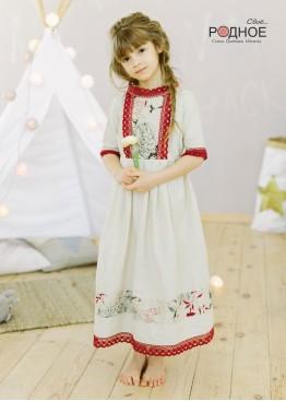 """Платье девичье """"Розы 02"""""""