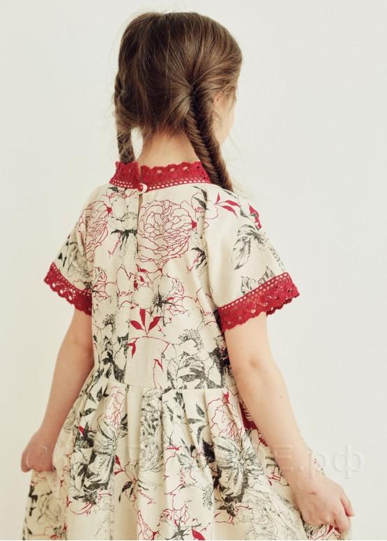 """Платье девичье """"Розы 03"""""""