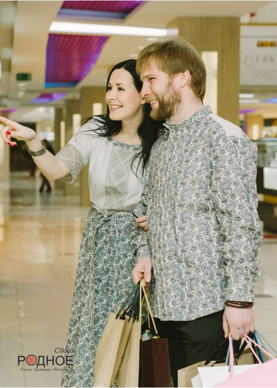 "Платье женское ""Огурцы 01"""