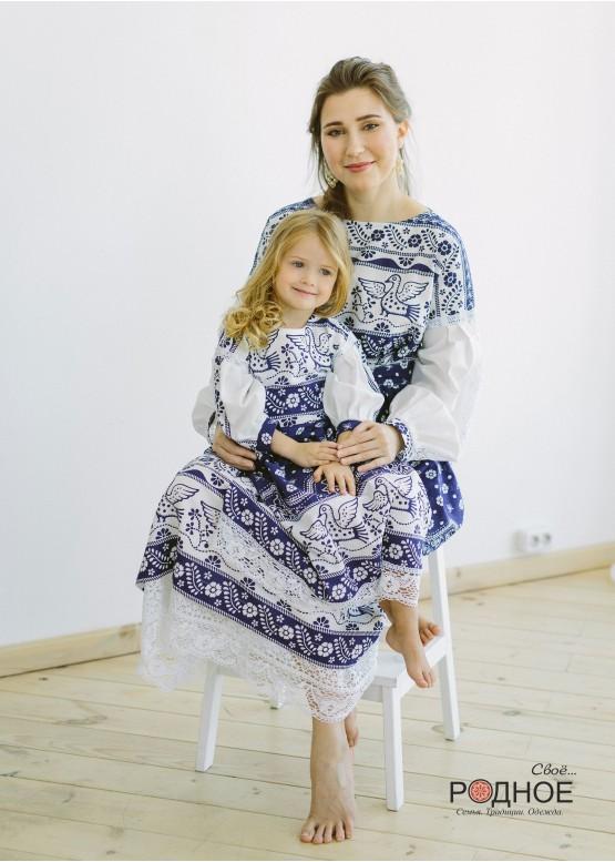 """Платье женское """"Утицы"""""""