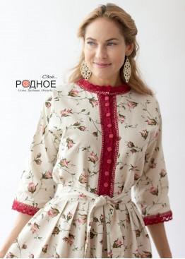 """Платье женское """"Нежные бутоны 1"""""""