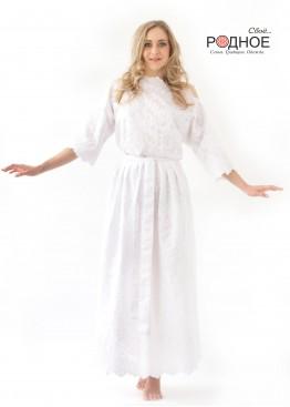 Пресветлая. Платье белое