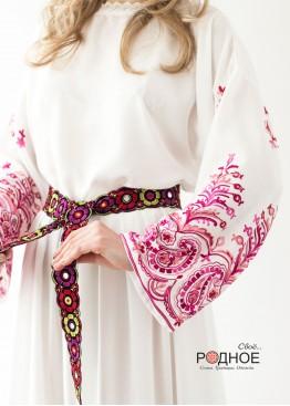 Царевна Лебедь. Платье в коралловом