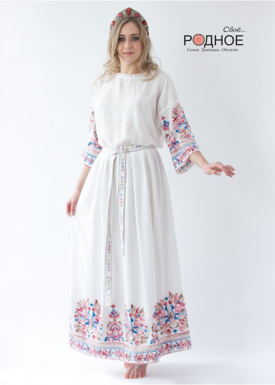 Царевна Лебедь. Платье
