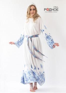 Царевна Лебедь. Платье в голубом